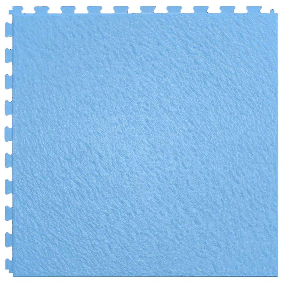 Perfection Floor Tile Homestyle Slate 6-Piece 20-in x 20-in Sky Blue Locking Slate Luxury Vinyl Tile Commercial/Residential Vinyl Tile