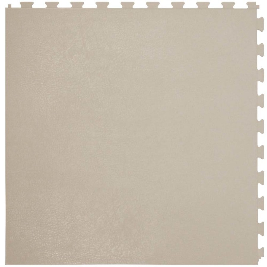 Perfection Floor Tile 6-Piece 20-in x 20-in Buck Leather Garage Floor Tile