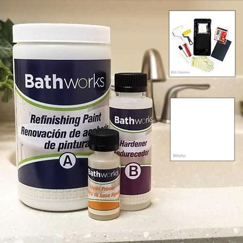 Bathworks 20 Fl Oz White Tub And Tile Repair At Lowes Com