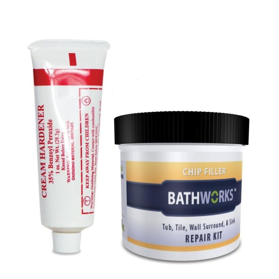 Shop Bathworks Off White Tub And Tile Repair At Lowes
