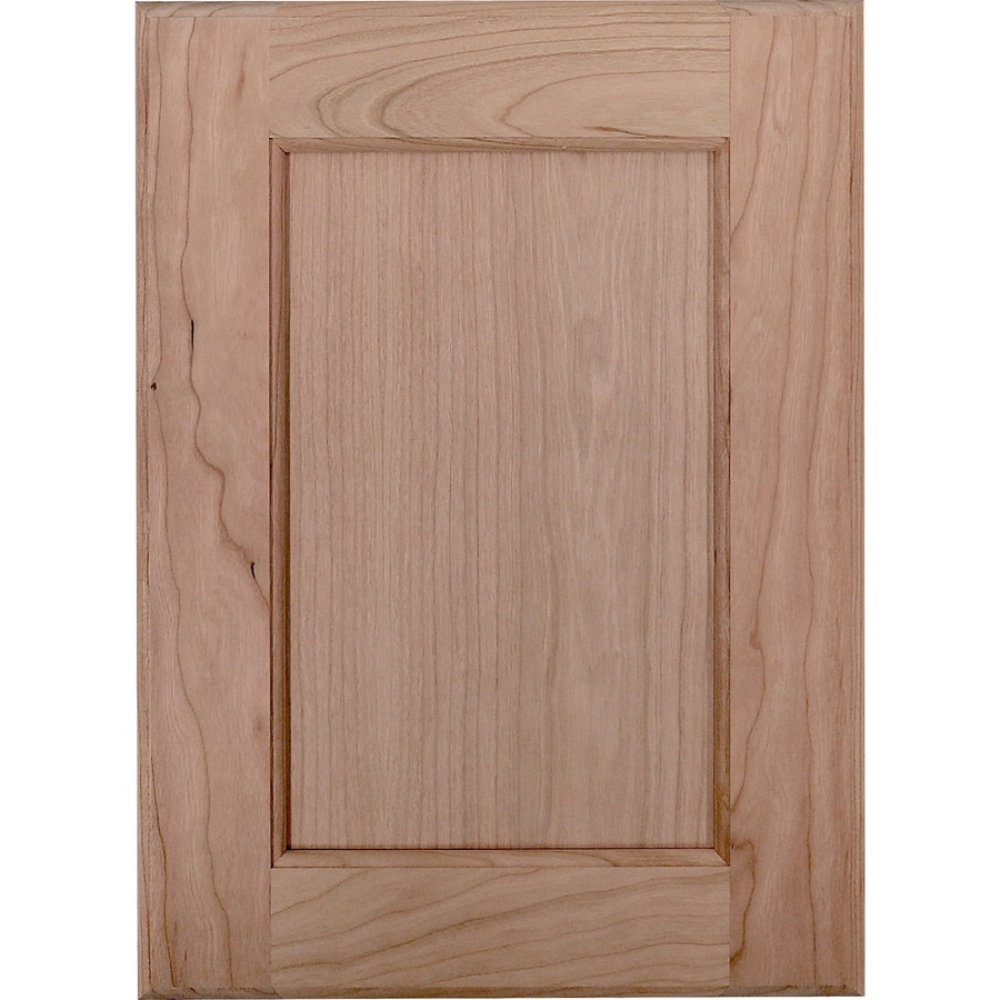 Surfaces Carlisle 11-in x 15-in Cherry Unfinished Flat Panel Cabinet Sample