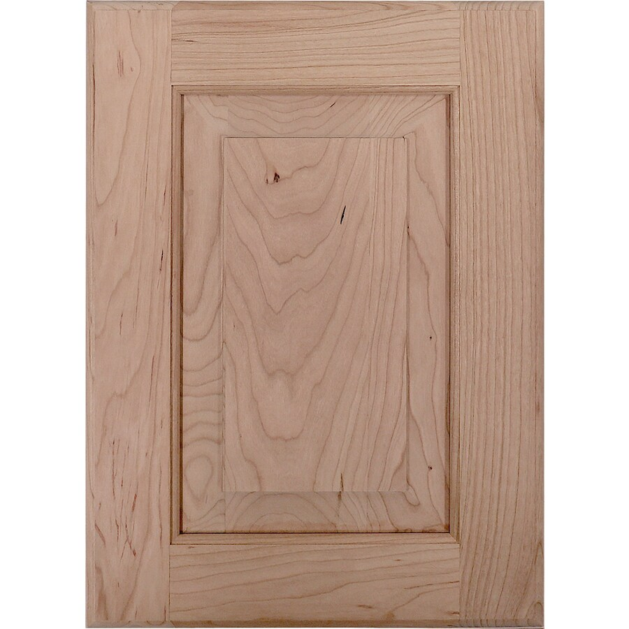 Surfaces Dalton 11-in x 15-in Cherry Unfinished Raised Panel Cabinet Sample