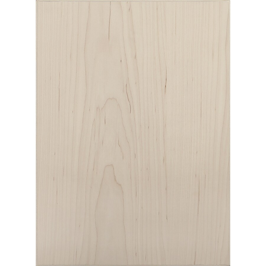 Surfaces 10-in W x 22-in H x 0.75-in D Hard Maple Cabinet Door Front