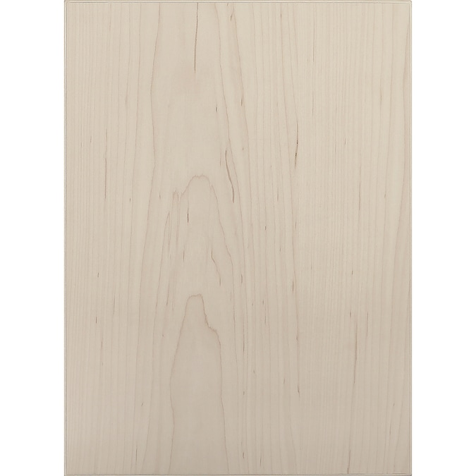 Surfaces 10 In W X 28 In H X 0 75 In D Hard Maple Wall Cabinet Door In The Kitchen Cabinet Doors Department At Lowes Com