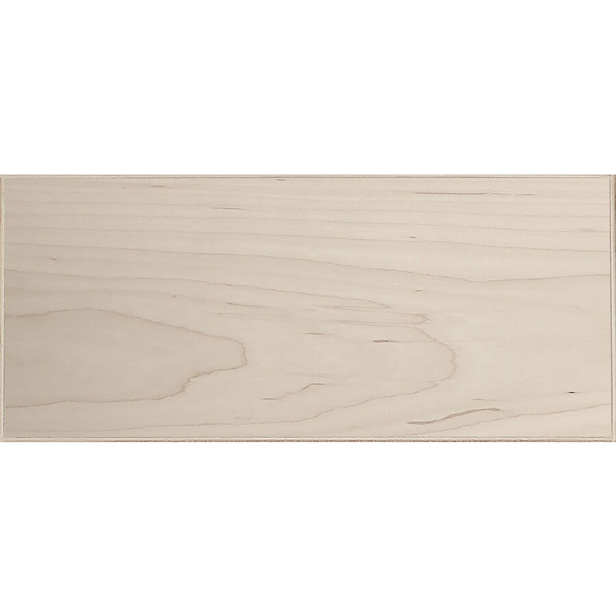 Surfaces 13-in W x 6-in H x 0.75-in D Hard Maple Cabinet Drawer Front