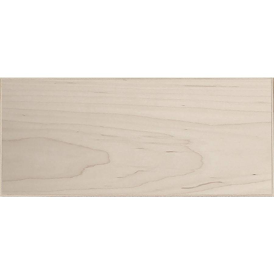 Surfaces 16-in W x 6-in H x 0.75-in D Hard Maple Cabinet Drawer Front