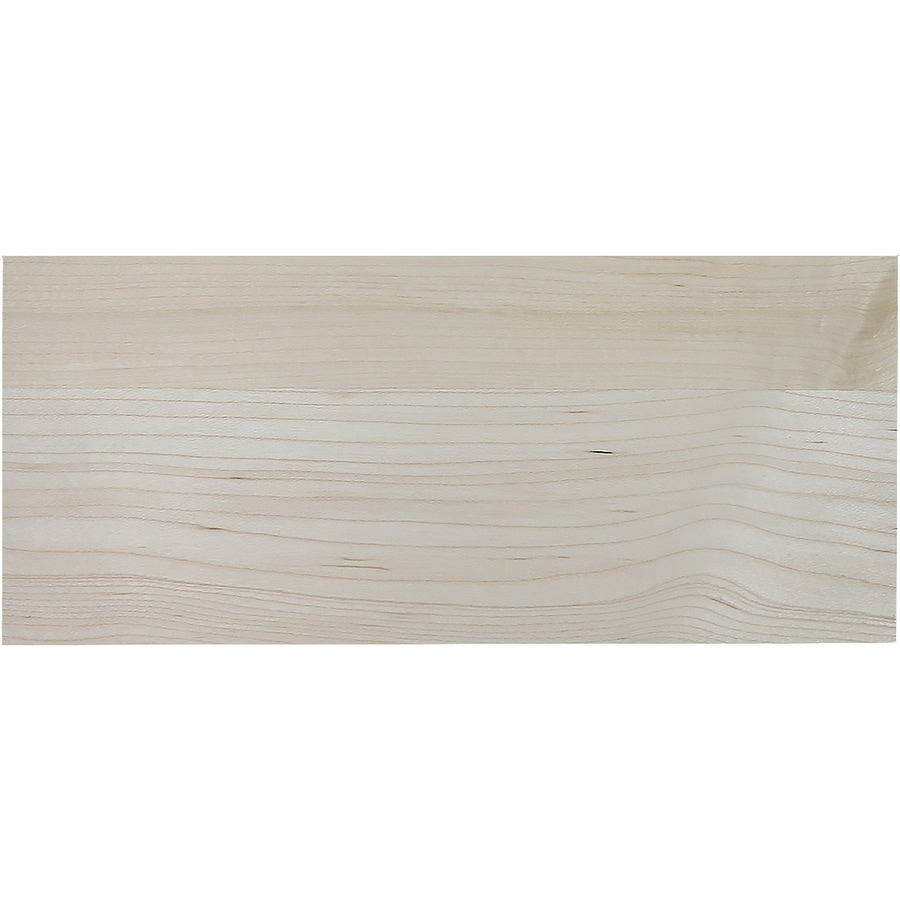 Surfaces 13-in W x 5.75-in H x 0.75-in D Hard Maple Cabinet Drawer Front