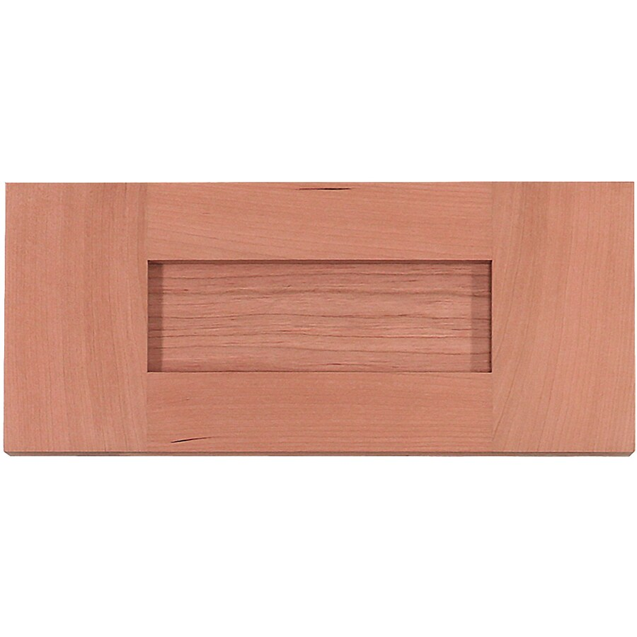 Surfaces 10-in W x 5.75-in H x 0.75-in D Cherry Cabinet Drawer Front