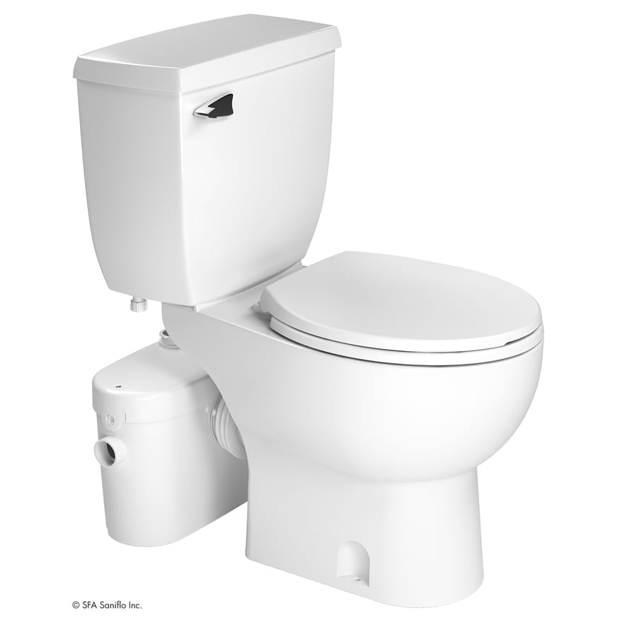 Saniflo Saniaccess2 White Watersense Labeled Round Chair