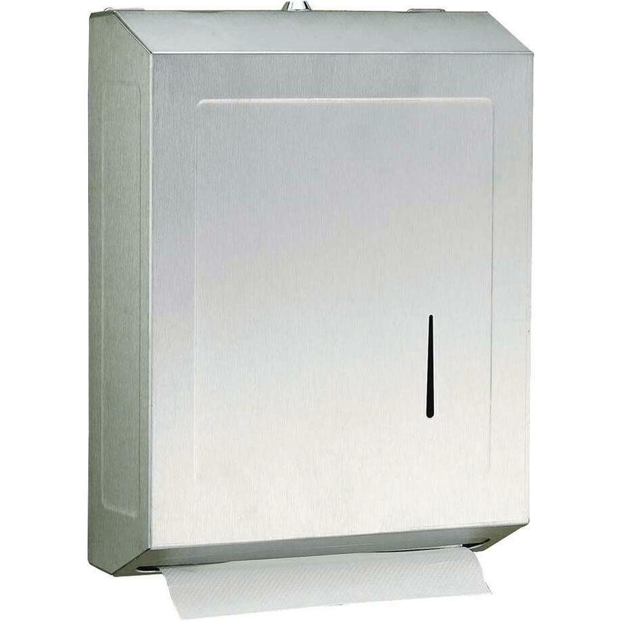 PSISC Satin C Fold Pull Paper Towel Dispenser