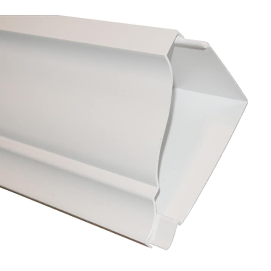 Shop Rowlcrown Straight 4 In X 8 Ft Pvc Classic Crown