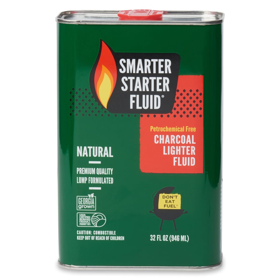 SMARTER STARTER FLUID 32-fl oz- Charcoal Lighter Fluid