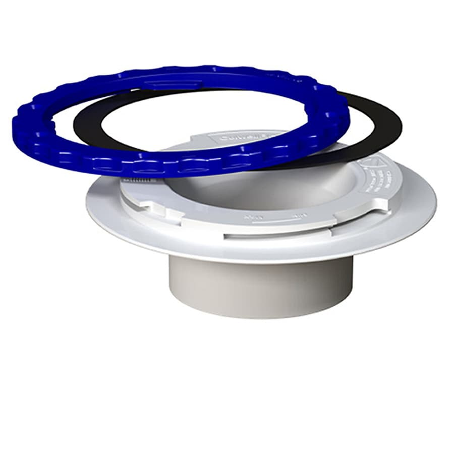 Culwell Flange 7-14/25-in dia PVC Closet Flange Fitting