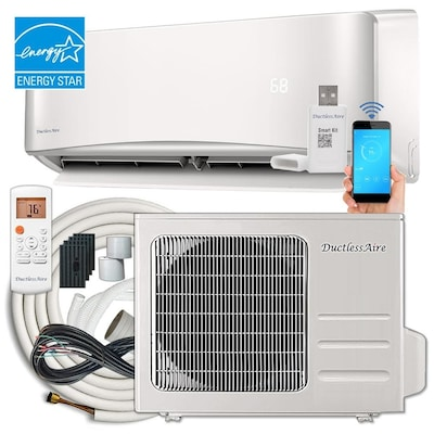 ENERGY STAR 18000-BTU 750-sq ft Single Ductless Mini Split Air Conditioner  with Heater