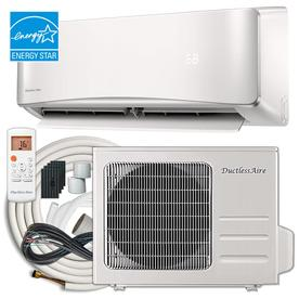 78fd6c5522f DuctlessAire ENERGY STAR 24000-BTU 1000-sq ft Single Ductless Mini Split Air  Conditioner