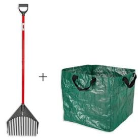 Root Assassin 59 In L Poly Handle Poly Garden Rake