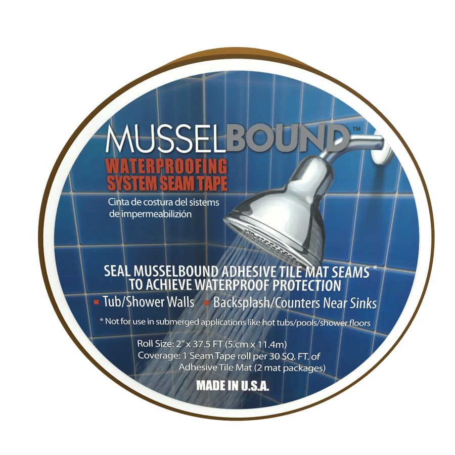 Shop MusselBound 2-in x 37.5-ft Clear Pressure Sensitive Seam Tape ...
