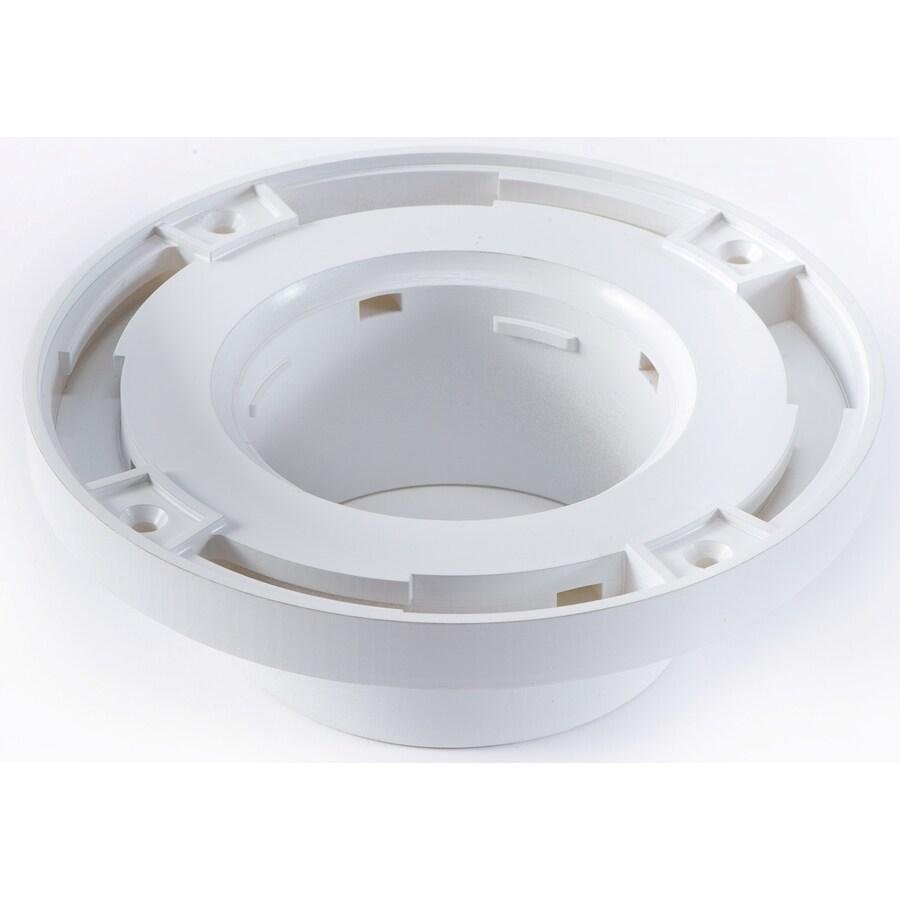 Barracuda Brackets White PVC Flange
