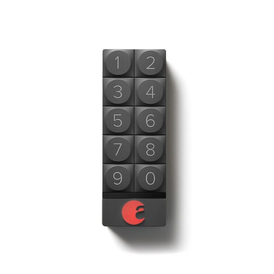 August Black Security Alarm Keypad