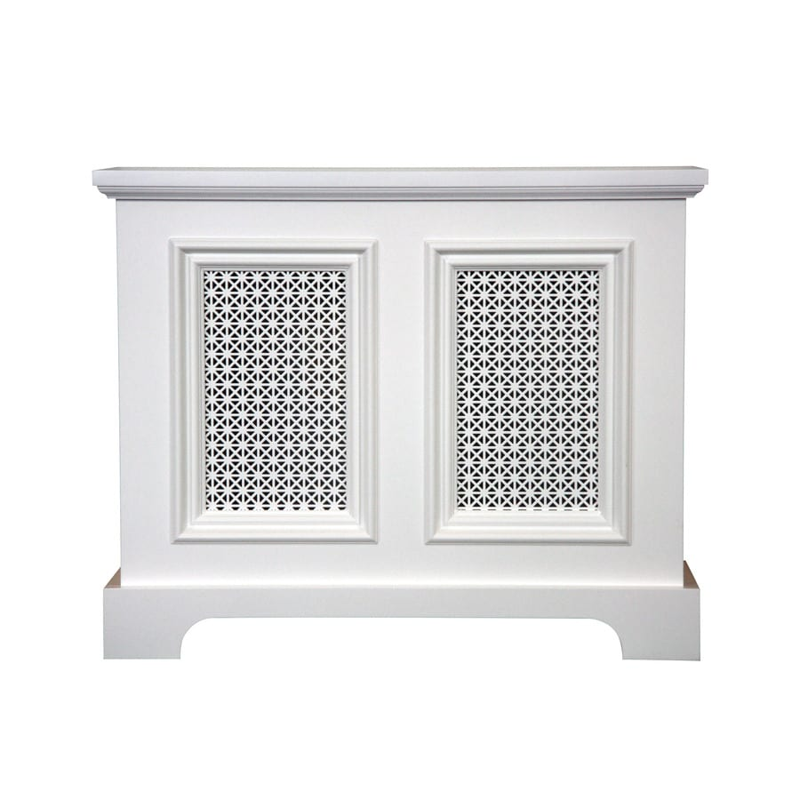 Fichman Furniture Back Bay 29.5-in x 23.75-in White Radiator Cover