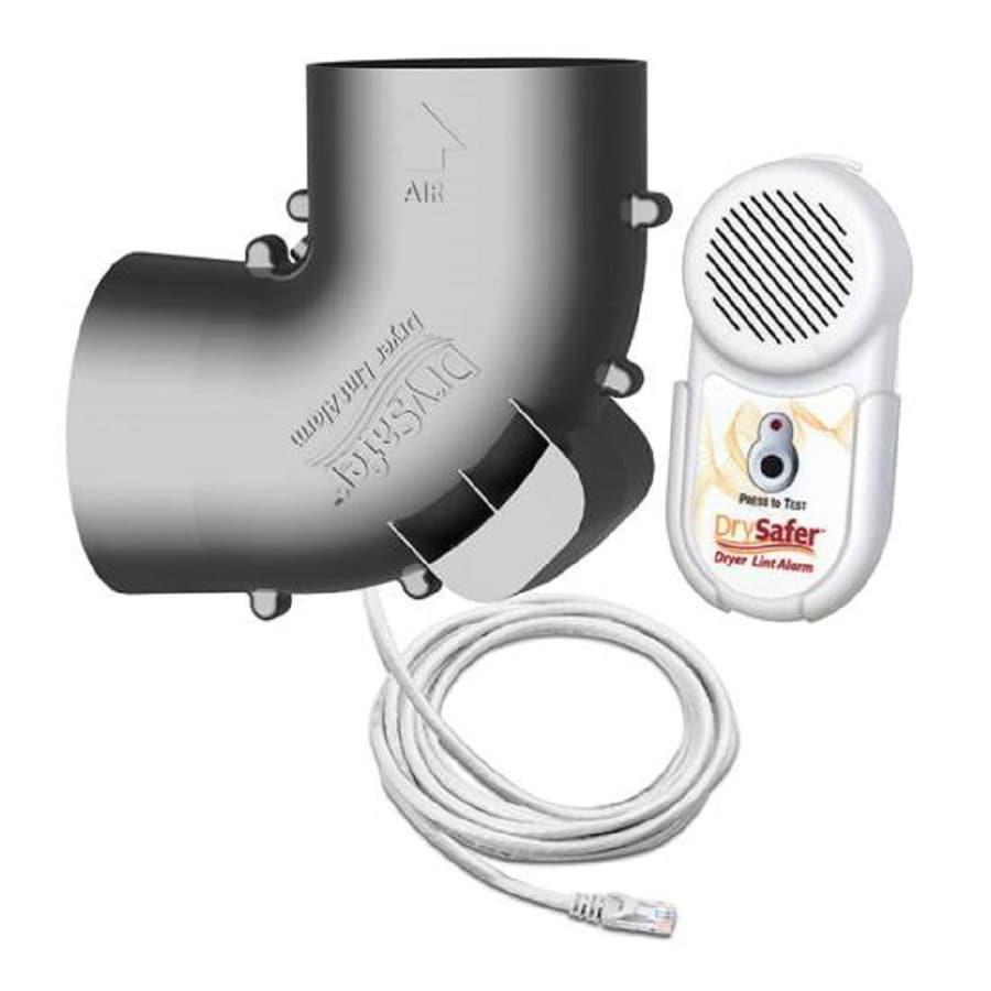 DrySafer Dryer Vent Alarm (White/Gray)