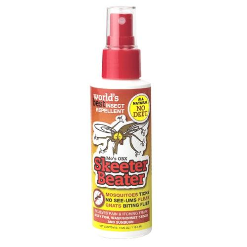 Mo S Obx Skeeter Beater 4 Fl Oz Organic Liquid Mosquito Repellent