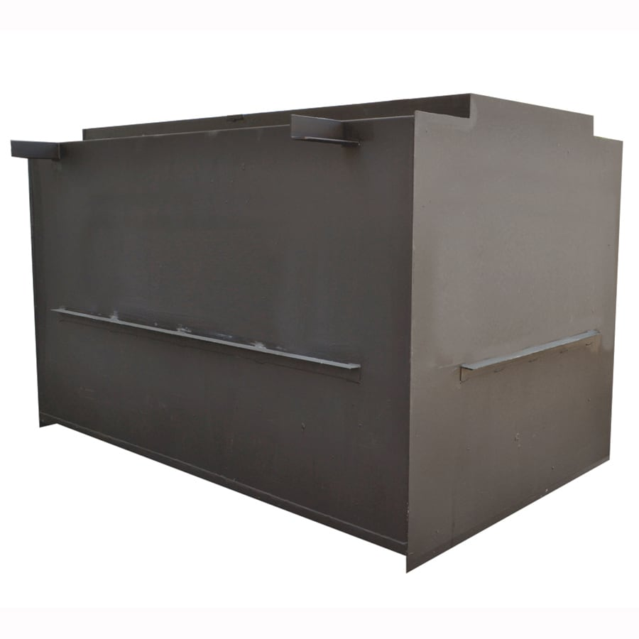 SteelSafe Shelters 14-Person Steel In-Ground Interior Storm Shelter