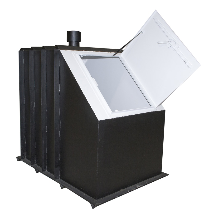 SteelSafe Shelters 8-Person Steel In-Ground Exterior Storm Shelter