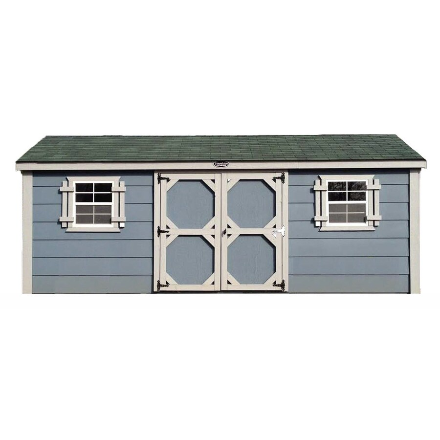 Fountain Buildings Gable Engineered Wood Storage Shed (Common: 12-ft x 20-ft; Interior Dimensions: 12-ft x 20-ft)