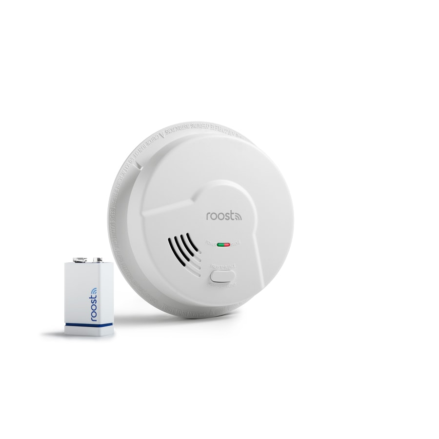 Roost Ac Hardwired 120-Volt Photoelectric Sensor Smoke Detector