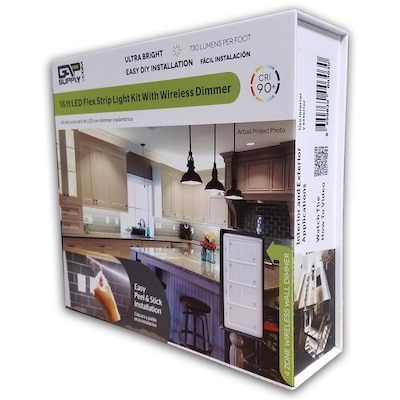 Gap Supply 197-in Plug-in Under Cabinet LED Tape Light at