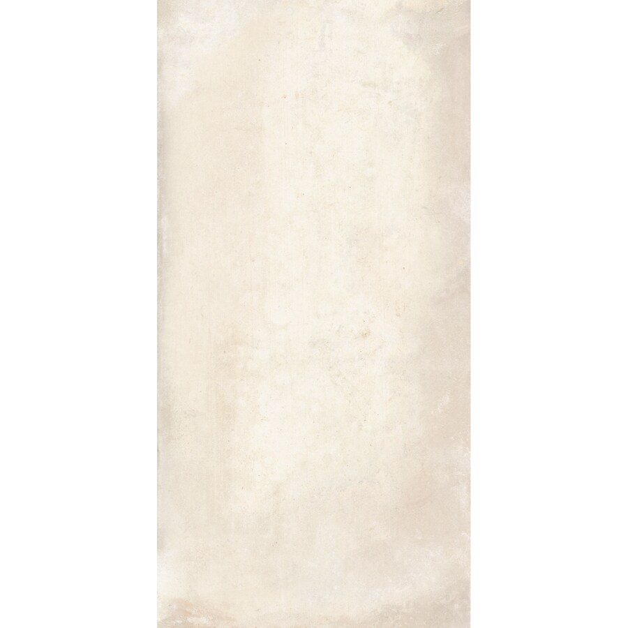 FLOORS 2000 Metropolitan 6-Pack Beige Porcelain Floor and Wall Tile (Common: 12-in x 24-in; Actual: 23.63-in x 11.81-in)