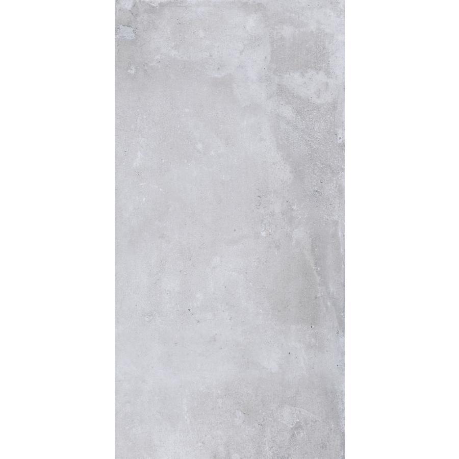 FLOORS 2000 Metropolitan 6-Pack Silver Porcelain Floor and Wall Tile (Common: 12-in x 24-in; Actual: 23.63-in x 11.81-in)