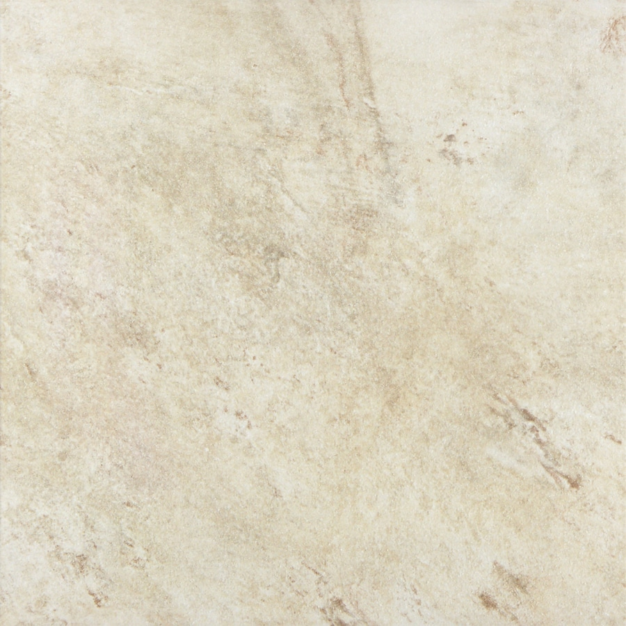 FLOORS 2000 Toscana 7-Pack Beige Porcelain Floor and Wall Tile (Common: 18-in x 18-in; Actual: 17.72-in x 17.72-in)