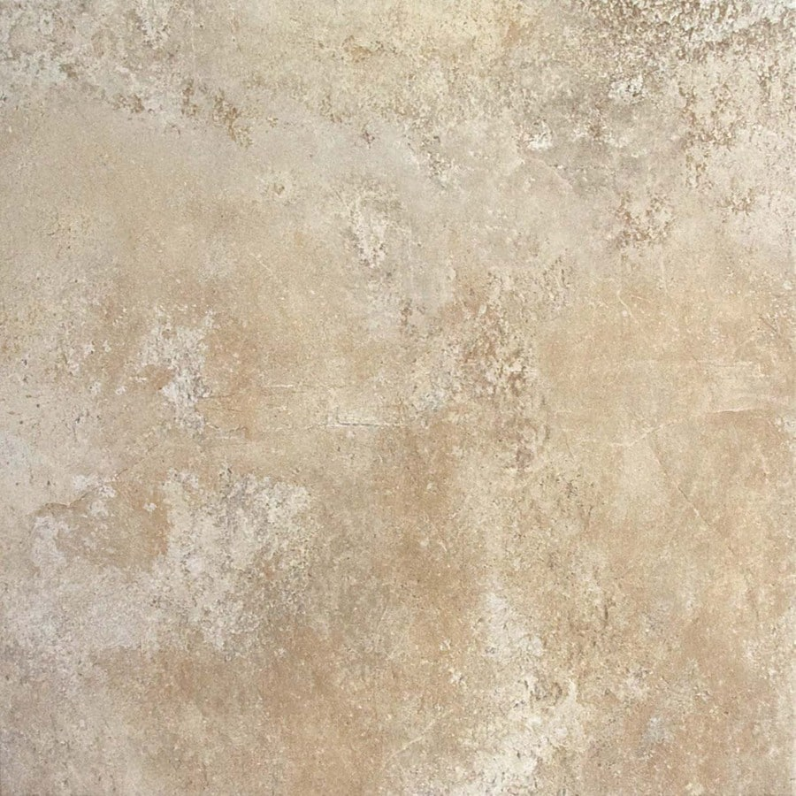 FLOORS 2000 Altamira 7-Pack Ivory Porcelain Floor and Wall Tile (Common: 18-in x 18-in; Actual: 17.72-in x 17.72-in)