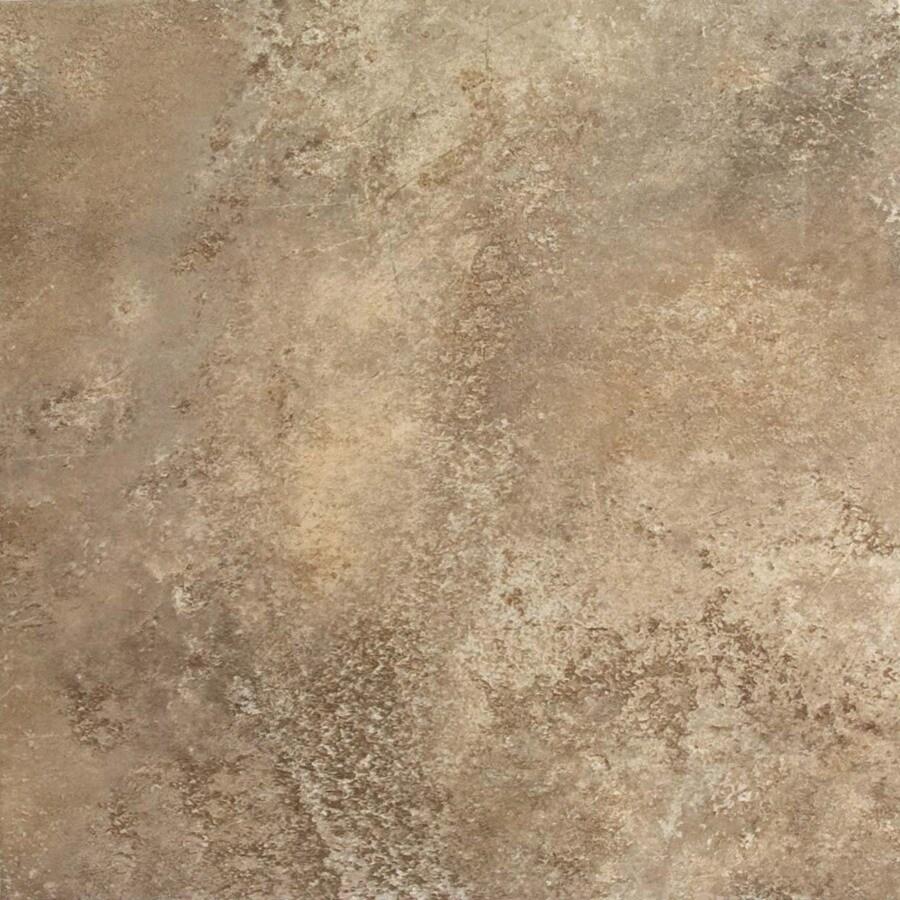 FLOORS 2000 Altamira 7-Pack Walnut Porcelain Floor and Wall Tile (Common: 18-in x 18-in; Actual: 17.72-in x 17.72-in)