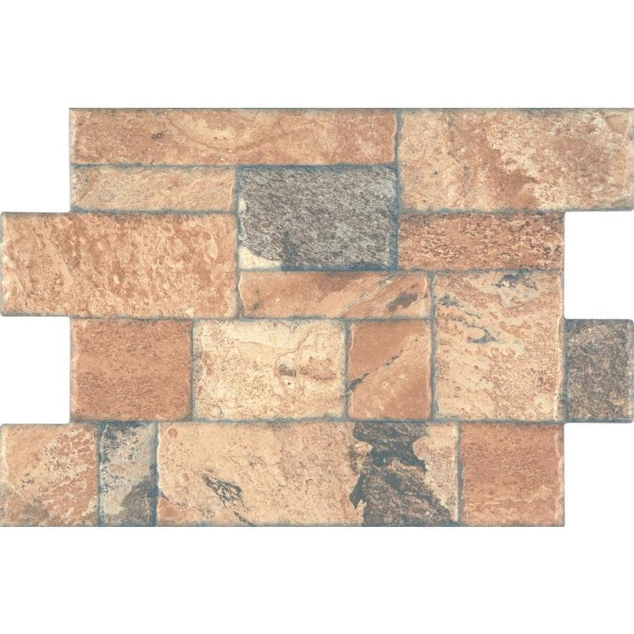 FLOORS 2000 Fiyord 6-Pack Cotto Porcelain Floor Tile (Common: 16-in x 24-in; Actual: 15.75-in x 23.62-in)