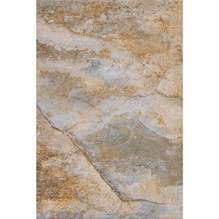 FLOORS 2000 Keystone 6-Pack Brown Porcelain Floor and Wall Tile (Common: 16-in x 24-in; Actual: 23.62-in x 15.75-in)