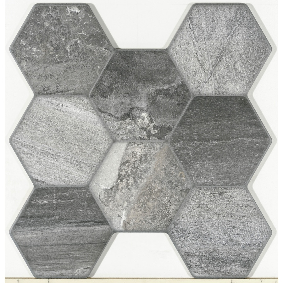 Shop FLOORS 2000 Vesta 7-Pack Stone Porcelain Floor and Wall Tile ...