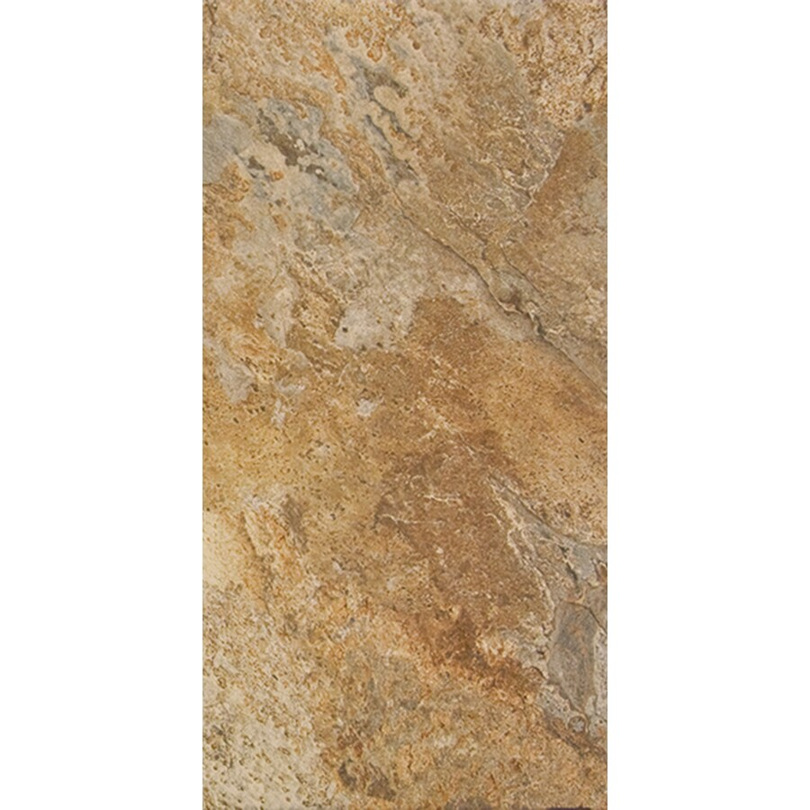 FLOORS 2000 Rajasthan 6-Pack Nute Porcelain Floor and Wall Tile (Common: 16-in x 24-in; Actual: 23.62-in x 15.75-in)