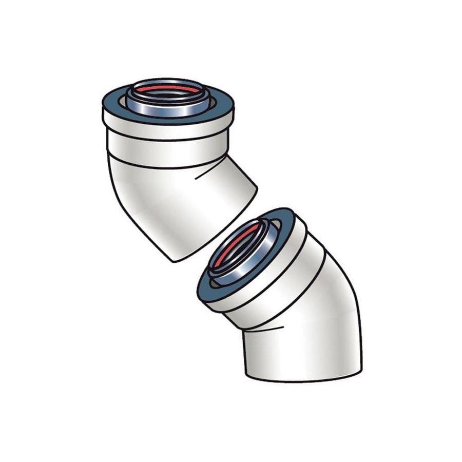 Rinnai Tankless Gas 45-Degree Water Heater Vent Kit