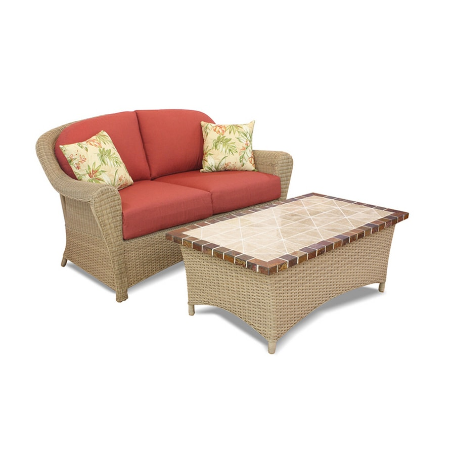 Superb Garden Treasures 2 Piece Pensacola Patio Furniture Set