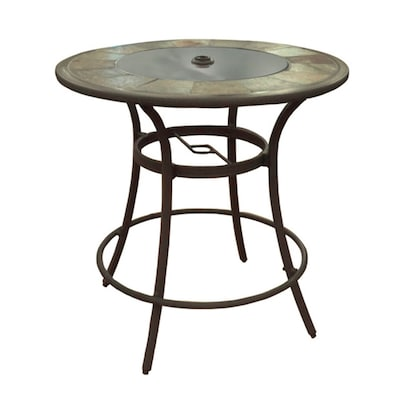 Marvelous Safford 40 In W X 40 In L Round Bar Table Ibusinesslaw Wood Chair Design Ideas Ibusinesslaworg