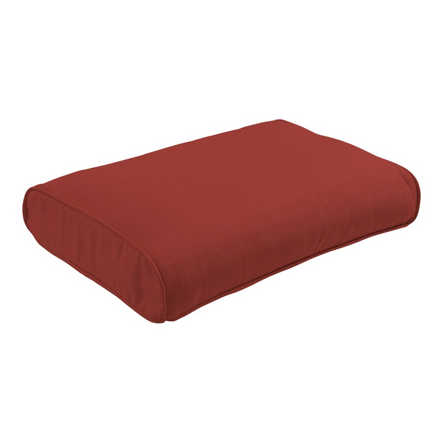 allen + roth Chili Cushion for Ottoman