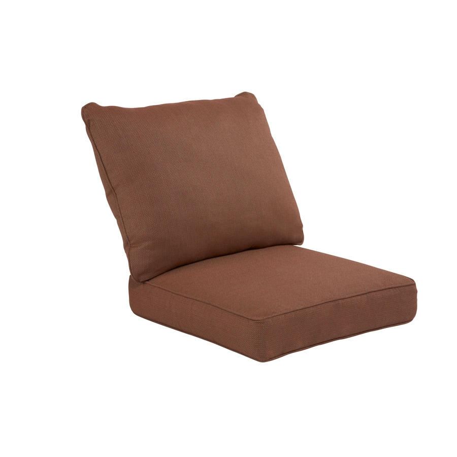 allen + roth Sunbrella Xena Brick Texture Cushion For Deep Seat Chair