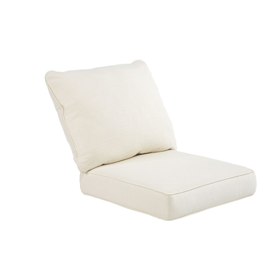Sunbrella Sunbrella Pearl Texture Cushion For Deep Seat Chair