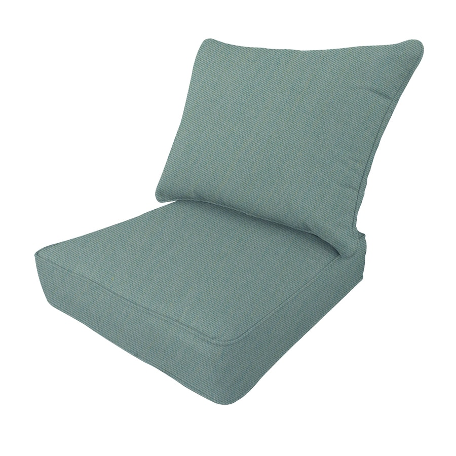 Bon Allen + Roth Sunbrella Canvas Spa Deep Seat Patio Chair Cushion