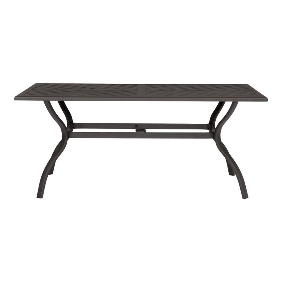 Allen Roth Everchase Rectangle Dining Table 43 3 In W X