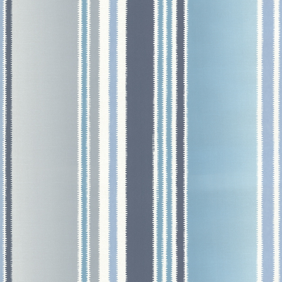 Brewster Wallcovering Turquoise Non-Woven Stripes Wallpaper
