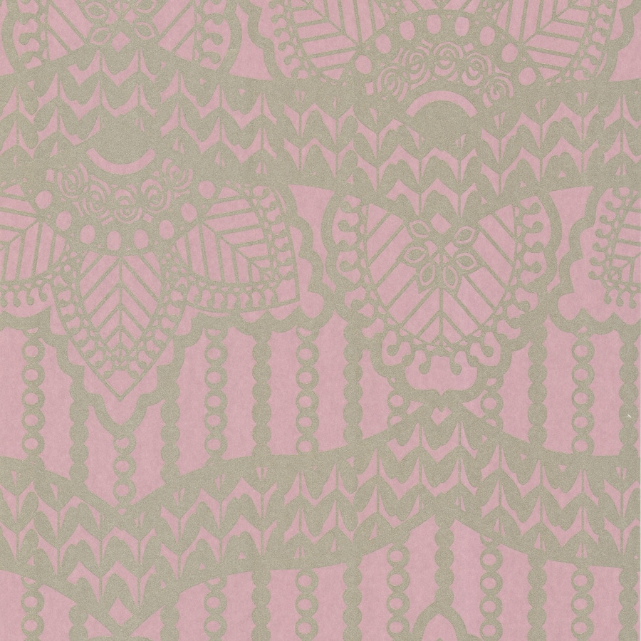 Brewster Wallcovering Pink Paper Abstract Wallpaper